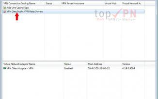 softether-VPN-Client-manager