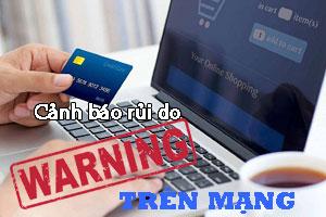 rủi do khi lên mạng